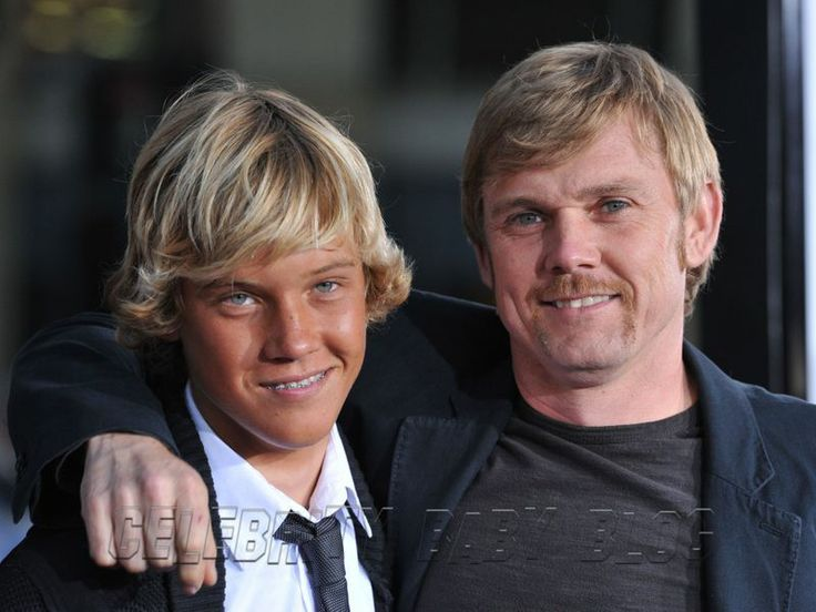 Ricky Schroder with son Luke