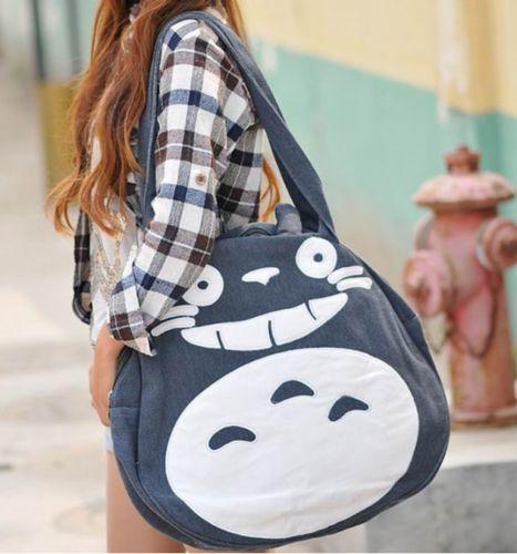 My Neighbor Totoro Miyazaki Hayao Segeltuchtasche Umhängetasche shoulder bags | eBay
