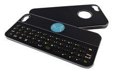 Mogul's Mobile - Magneti Bluetooth Keyboard Case for Apple® iPhone® 5 and 5s - Black