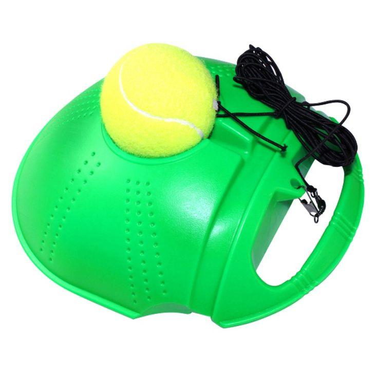 Rebound Trainer Set Training Aids Practice Partner Equipment 2 Color Tennis Training Partner for Beginner Updated New