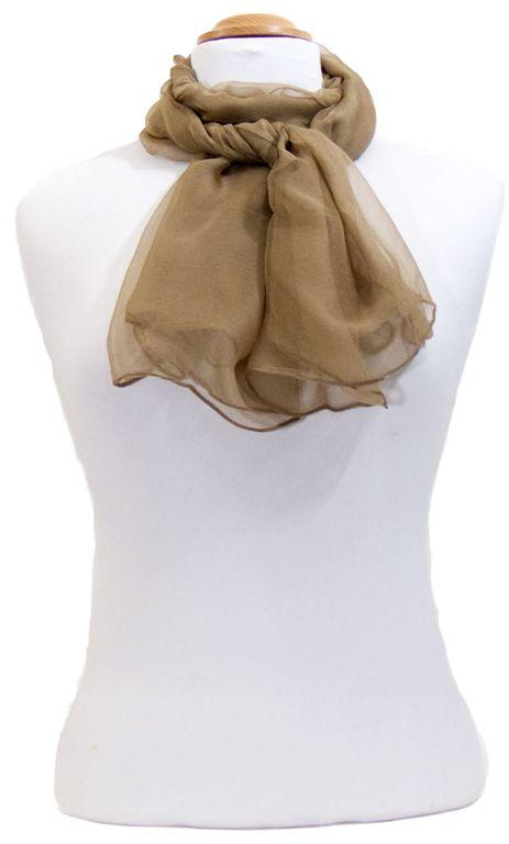 Foulard beige mousseline de soie. Foulards en soie découvrez plus de 200  modèles exclusifs sur mesecharpes.com. Livraison gratuite e… 1af92352ca4