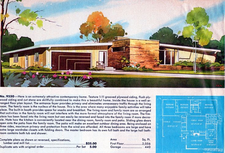 1000 images about mid century modern ads on pinterest for Adhouse plans
