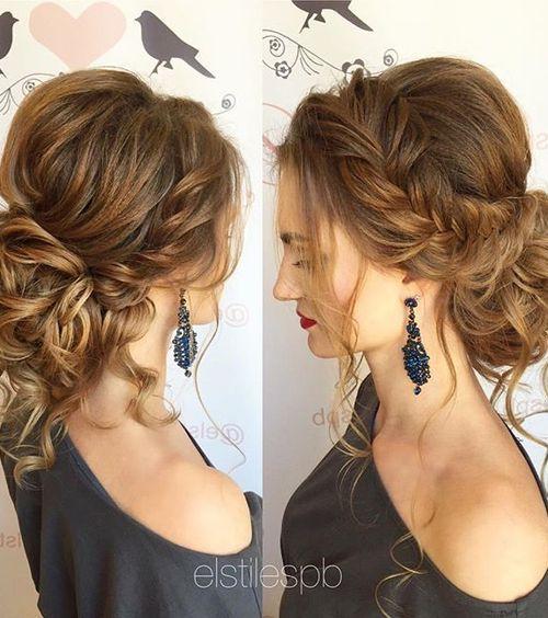 Wedding Hairstyles For Medium Long Hair Bridal Prom : Best ideas about medium wedding hair on