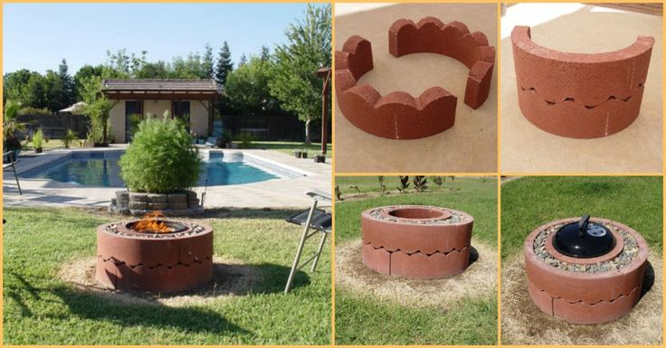 Build This Simple Fire Pit For Just $50