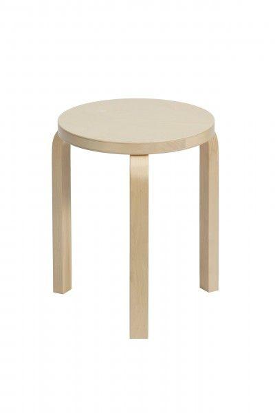 206. Stool 60, 3 legs stool, Artek, Finland - Alvar Aalto, 1933