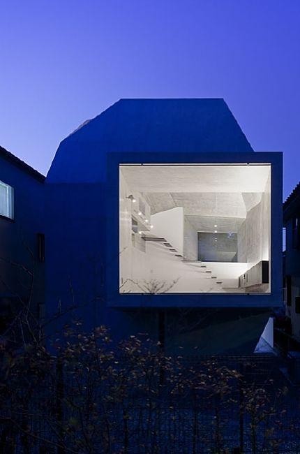 #House in abiko, #Japan by Fuse Atelier. Pinned by www.modelina-architekci.com