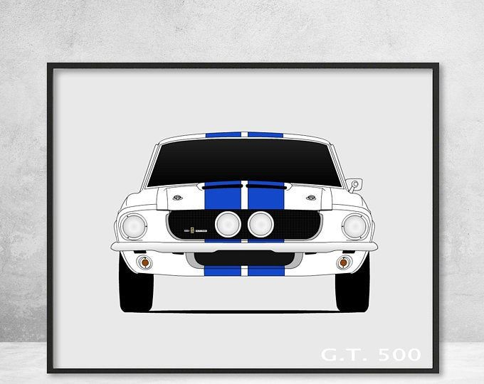 Shelby Gt500 Ford Mustang Poster Print Wall Art Of The History Etsy Shelby Gt500 Ford Mustang Ford Mustang Shelby Gt500