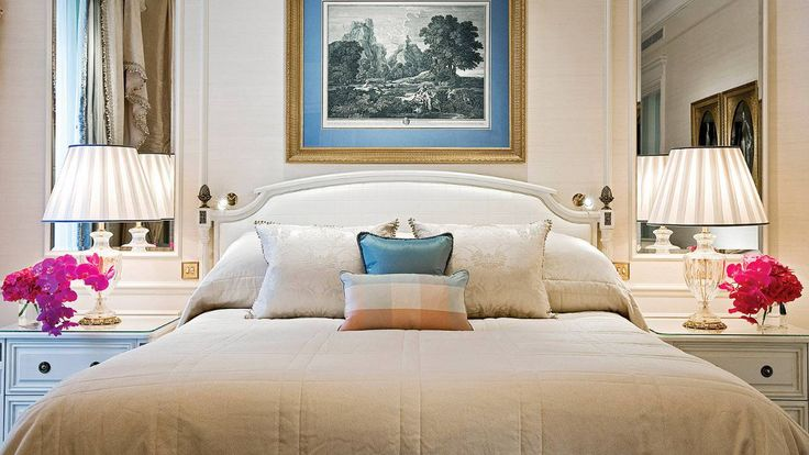 Four Seasons Hotel George V #Paris. I spent 3 nights in a Junior Suite for my 30th birthday. I had one of the most incredible evenings here & the spa was beyond restful. I'd stay just for the flowers.