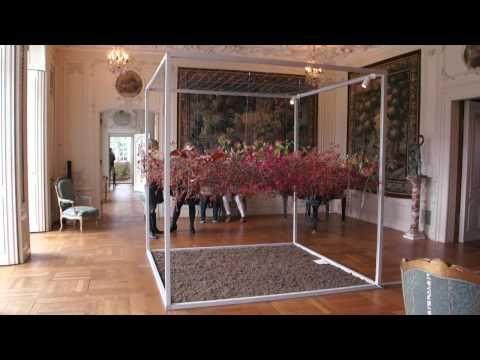 Blomsterkunst på Herregården Løndal - YouTube