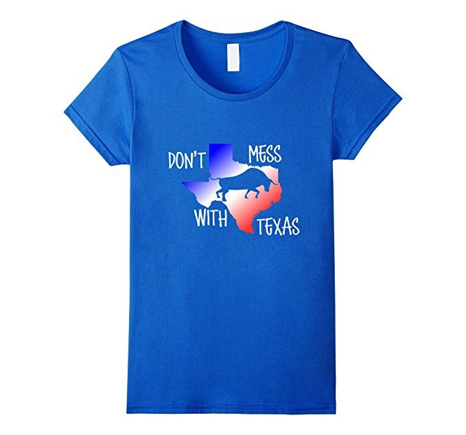 Amazon.com: Don't Mess With Texas T-shirt Longhorn Texan Tshirt: Clothing