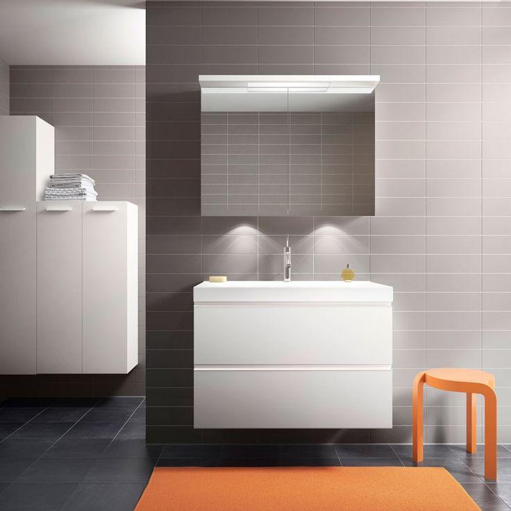 Klassisk baderom - Strict hvit | Drømmekjøkkenet