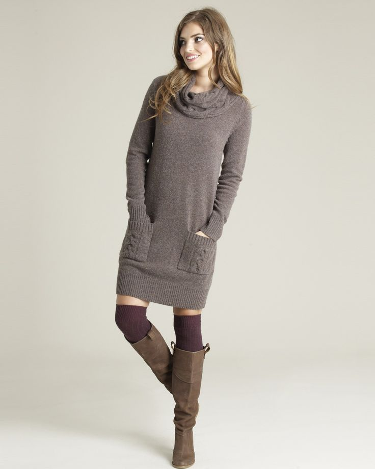 16 best Amazing Cashmere Sweater Dress images on Pinterest ...