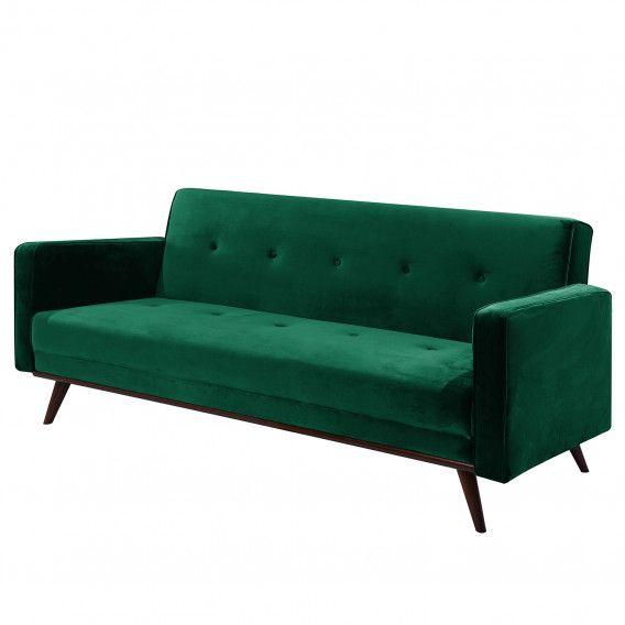 Schlafsofa Daru Deluxe Ii Samt Sofa Retro Living Rooms Furniture