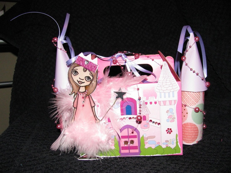 A party pack/favour for a princess
