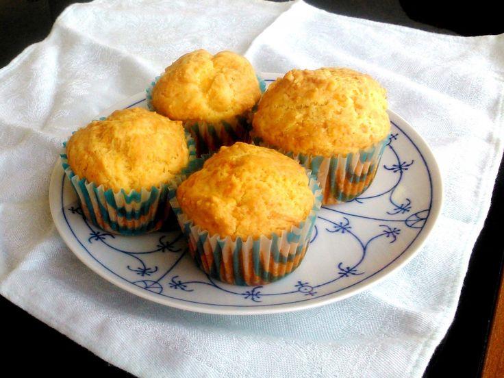 Sós muffin péksüti helyett