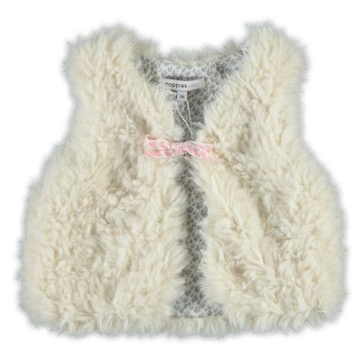 Noppies Bolero | Wintercollectie 2015 | www.kleertjes.com #kinderkleding #babykleding #kids #fashion #fake #fur #trends #nepbont #imitatiebont