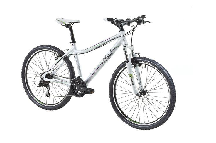 Tacoma I 26 pouces.  Le cadre slooping en alu, avec sa forme adoucie facilite les déplacements sur le vélo.