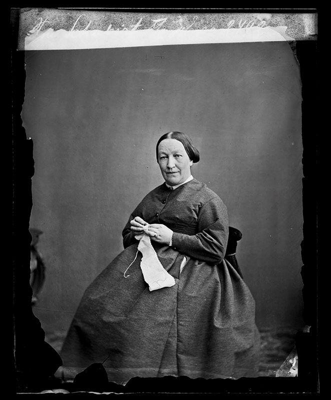 Stockholms digitala stadsmuseum — Porträtt av fru Schubert.