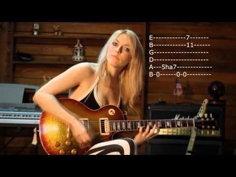 Killer Heavy Metal Riff by Emily Hastings - YouTube