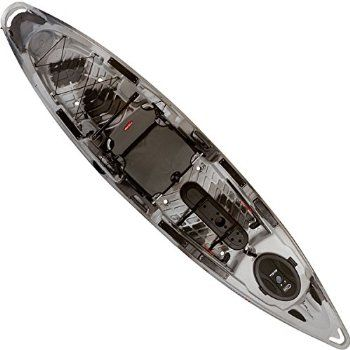 This stable, easy to paddle sit-on-top kayak comes fully rigged with fishing features needed to hit the water right away. Anglers love the versatile hull design that's good for tracking on lakes but also maneuvers easily on rivers. The extra large cockpit opening provides plenty of room to work with your tackle and offers easy entry and exit.