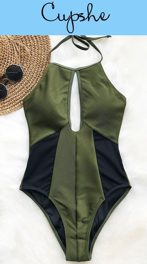 NEW ARRIVAL! A super elegant one-piece swimsuit is the answer to a hot summer. Classic and cute, and perfect for a relaxed summer vacation with friends. Have it, today!