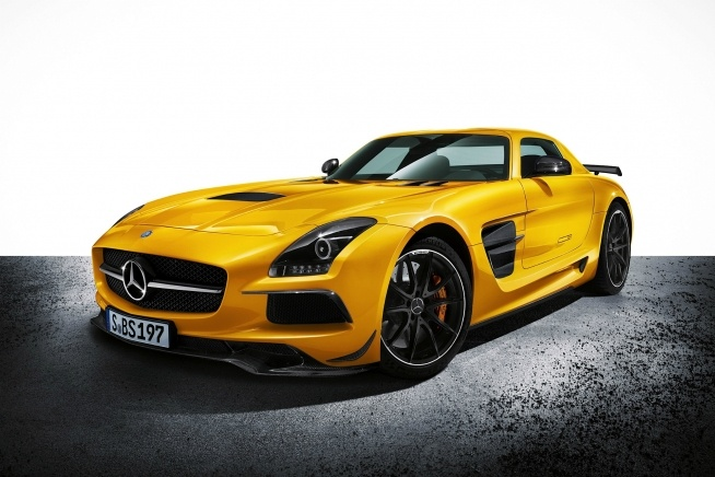 2014 Mercedes-Benz SLS AMG Black Series  Hey, I dream big!!!