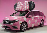 Tecnologica-mente Angela: Nuova Honda Minnie Van in occasione di Disney D23 ...