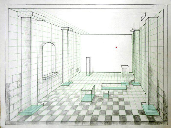 die besten 25 zentralperspektive ideen auf pinterest fluchtpunktperspektive render. Black Bedroom Furniture Sets. Home Design Ideas