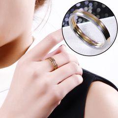 Титана стальное кольцо женщин корейской приток людей, 2017 новый творческой пары подарок персонализированные просто не выцветает очень тонкие кольца