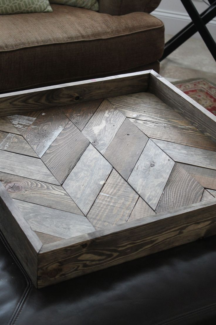 Shabby Chic DIY Pallet Wood Tray | Lisa Jayne Lee
