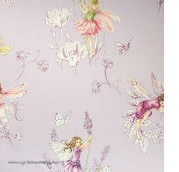 Jane Churchill Meadow Flower Fairies (Engelska Tapetmagasinet)