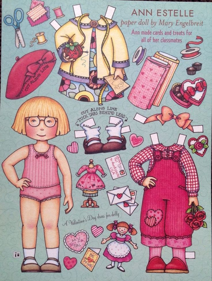 US $4.50 Used in Dolls & Bears, Paper Dolls, Magazine