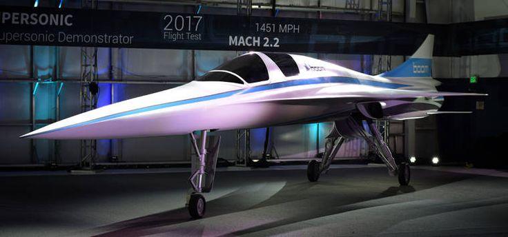Boom progetta il suo aereo supersonico con la stampa 3D