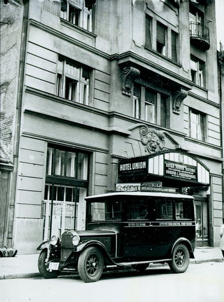 Onde upon a time there was Belgrade - Hotel Union