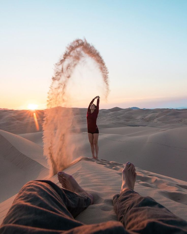 """9,124 Likes, 95 Comments - European Solo Travel (@shangerdanger) on Instagram: """"The dry sand of the desert is a lot different than what we play with underwater in Hawaii, but it…"""""""