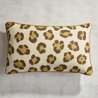 Think our giraffe-inspired pillow is too wild for your taste? We say think again. Whether placed on a neutral leather sofa or a hot pink chair, our handcrafted  addition is sure to make your room come to life.