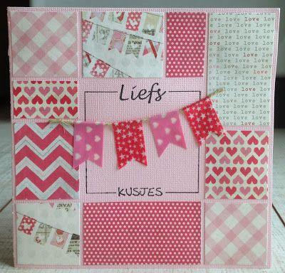 LindaCrea: Alles is Liefde #3 en Vakjeskaart #5