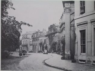PARK Crescent in 1950, before Worthing Council improved the grounds and renamed them Amelia Park, to mark the Borough's centenary.