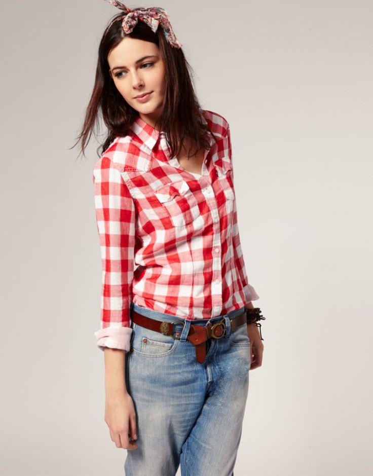 Мода на клетчатые рубашки