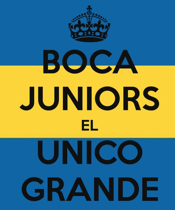 Boca juniors el UNICO grande
