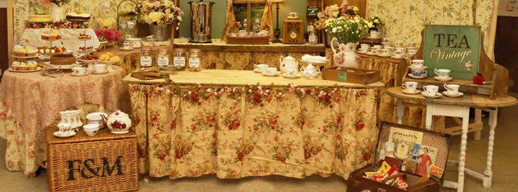 Vintage tea room design
