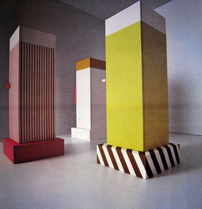 In 1965 Ettore Sottsas Designed The Pop Influenced Superbox Closet Insidefront Sottsass Wardrobes By Fantastic
