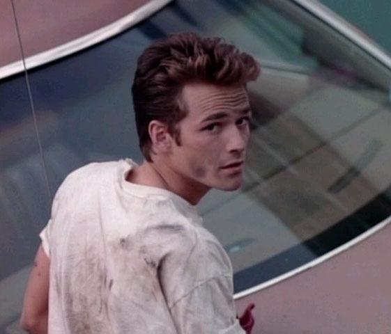 Luke Perry I thought he was smokin HOT when I was 9