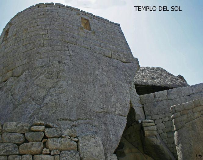 TEMPLO DEL SOL Machu Picchu