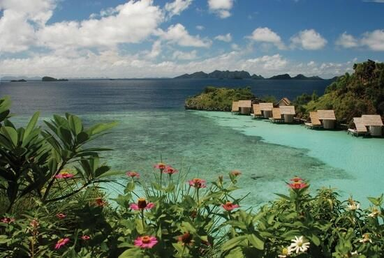 Pulau Batbitim, Raja Ampat, Papua Barat, Indonesia