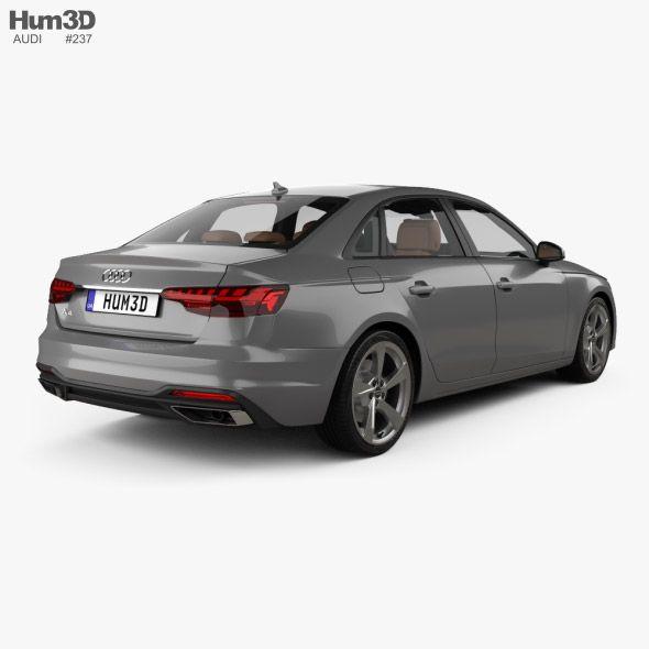 Audi A4 Sedan With Hq Interior 2019 In 2020 Audi A4 Sedan Audi