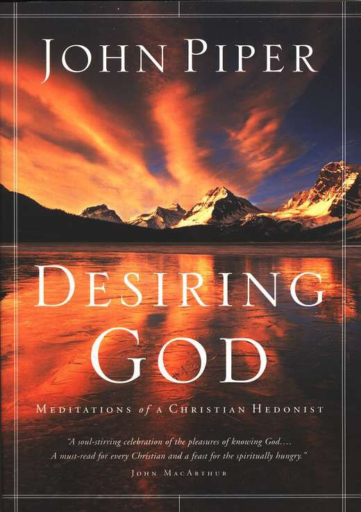 """If you've never heard/read John Piper, this is a great place to start. """"God is most glorified in us when we are most satisfied in Him."""""""