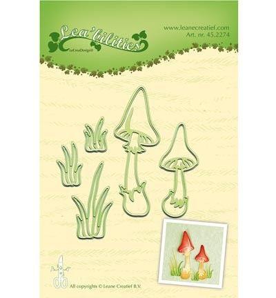 Leane Creatief Lea'bilities Mushrooms Die Set