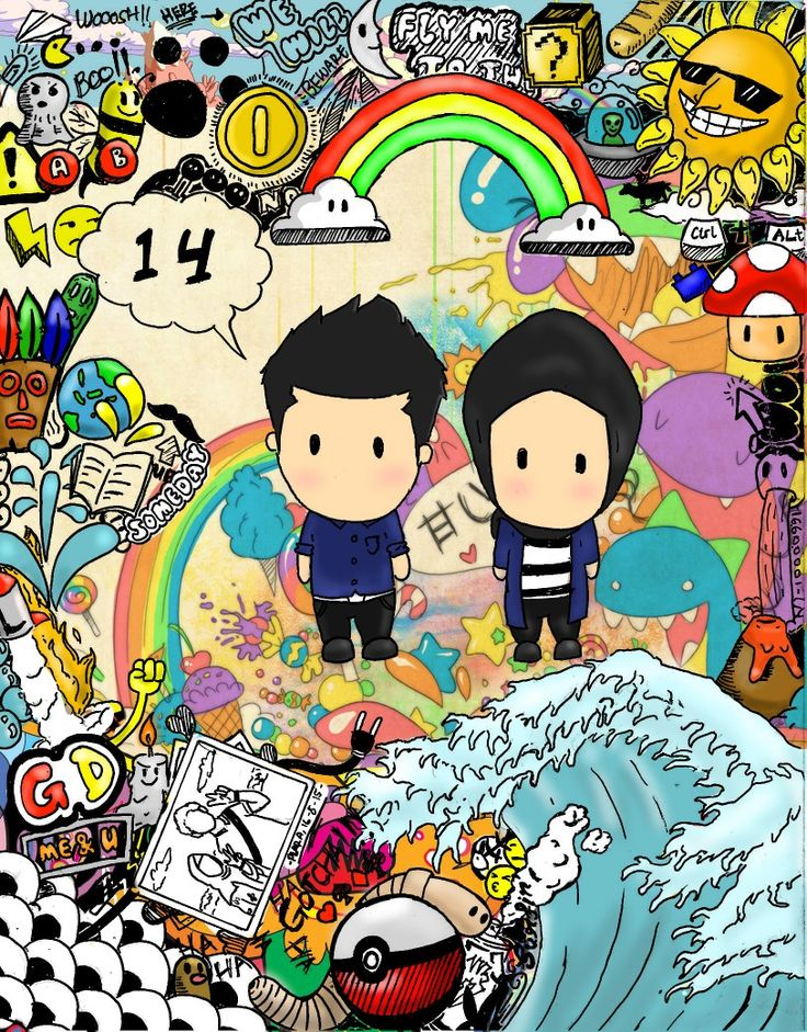 """""""20th 14"""" Doodle by gianmulya"""