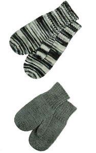 Children's Mittens 4-6-8 Year Olds Pattern #166 | Knitting Patterns